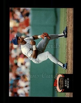 1992 Topps Stadium Club #440  Julio Franco