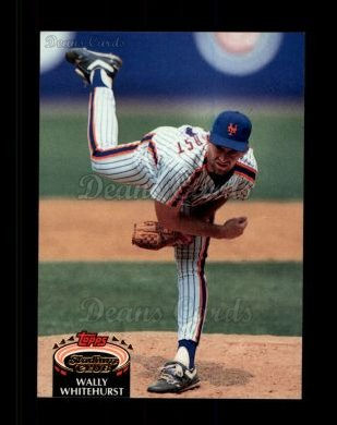 1992 Topps Stadium Club #476  Wally Whitehurst
