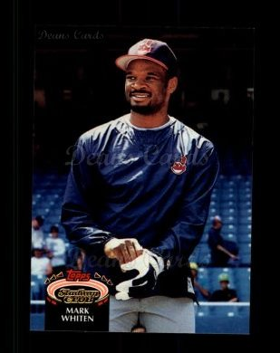 1992 Topps Stadium Club #51  Mark Whiten
