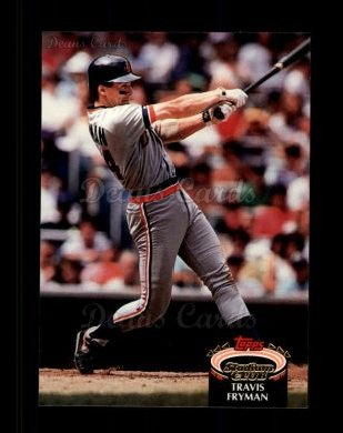 1992 Topps Stadium Club #59  Travis Fryman