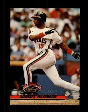 1993 Topps Stadium Club #400  Sandy Alomar Jr.
