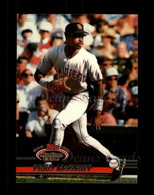 1993 Topps Stadium Club #510  Fred McGriff