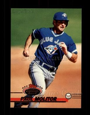1993 Topps Stadium Club #627  Paul Molitor