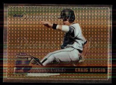 1996 Topps Chrome #122  Craig Biggio