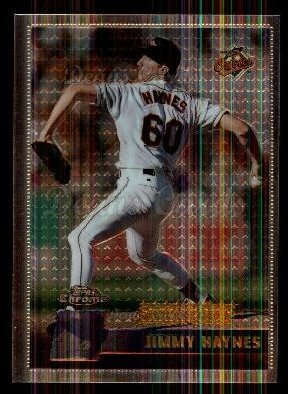 1996 Topps Chrome #143  Jimmy Haynes
