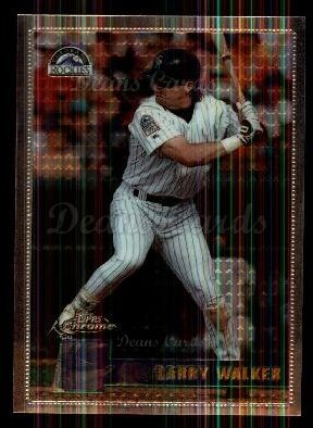1996 Topps Chrome #147  Larry Walker