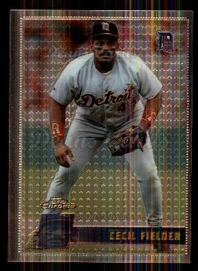 1996 Topps Chrome #157  Cecil Fielder