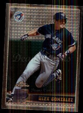 1996 Topps Chrome #162  Alex Gonzalez