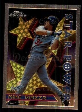 1996 Topps Chrome #2   -  Mike Piazza STP