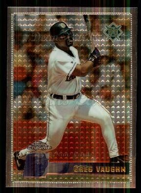 1996 Topps Chrome #42  Greg Vaughn