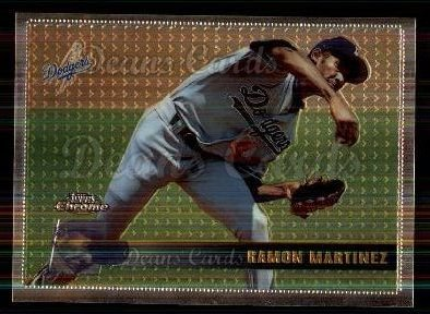 1996 Topps Chrome #71  Ramon Martinez