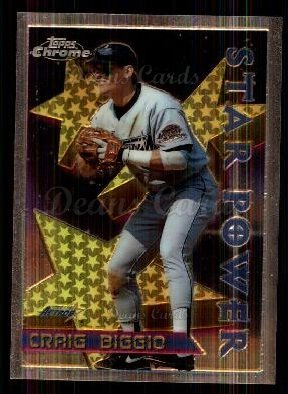 1996 Topps Chrome #9  Craig Biggio