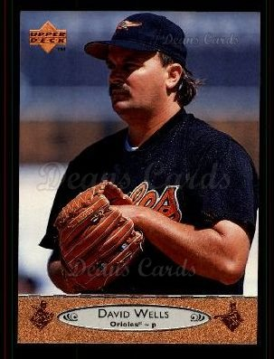 1996 Upper Deck #483 U David Wells