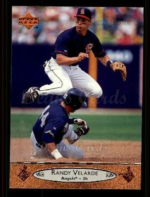 1996 Upper Deck #485 U Randy Velarde