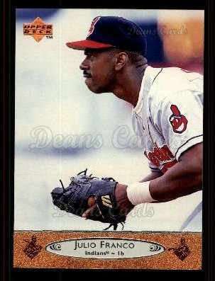 1996 Upper Deck #492 U Julio Franco