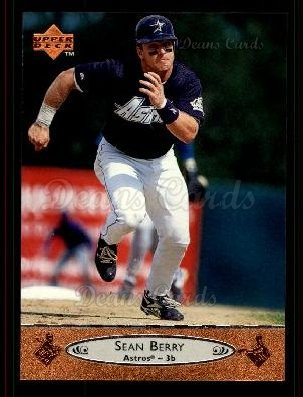 1996 Upper Deck #497 U Sean Berry