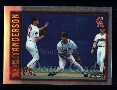 1997 Topps Chrome #10  Garret Anderson