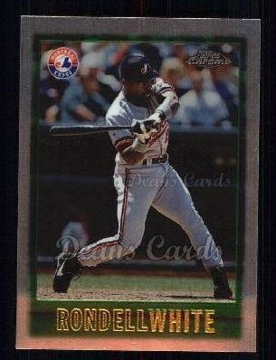 1997 Topps Chrome #112  Rondell White