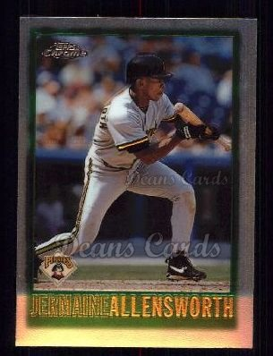 1997 Topps Chrome #115  Jermaine Allensworth