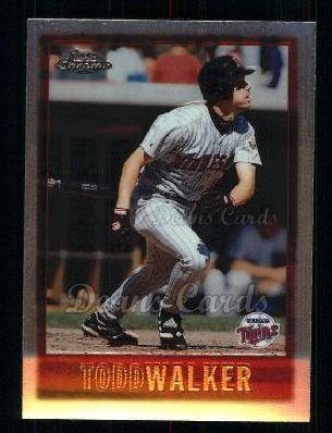 1997 Topps Chrome #129  Todd Walker