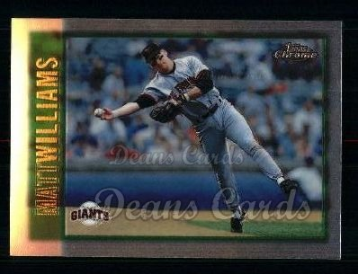 1997 Topps Chrome #132  Matt Williams