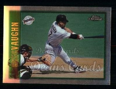 1997 Topps Chrome #138  Greg Vaughn