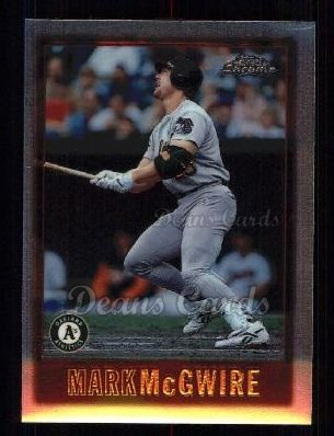 1997 Topps Chrome #21  Mark McGwire