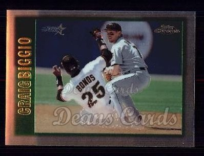 1997 Topps Chrome #32  Craig Biggio