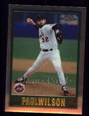 1997 Topps Chrome #35  Paul Wilson