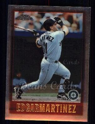1997 Topps Chrome #38  Edgar Martinez