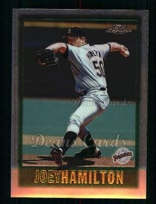 1997 Topps Chrome #45  Joey Hamilton