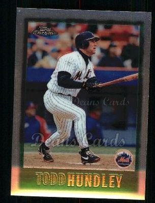 1997 Topps Chrome #55  Todd Hundley