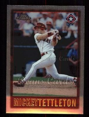 1997 Topps Chrome #64  Mickey Tettleton