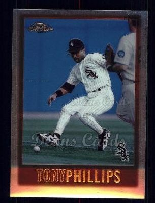 1997 Topps Chrome #66  Tony Phillips