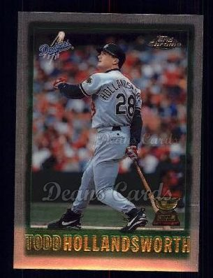 1997 Topps Chrome #69  Todd Hollandsworth