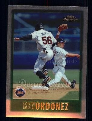 1997 Topps Chrome #70  Rey Ordonez