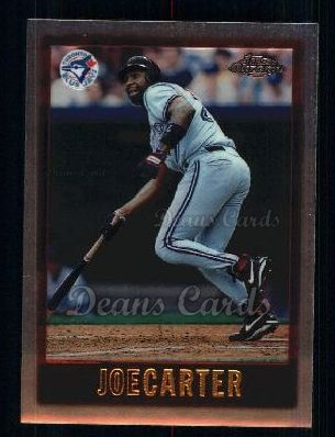 1997 Topps Chrome #83  Joe Carter