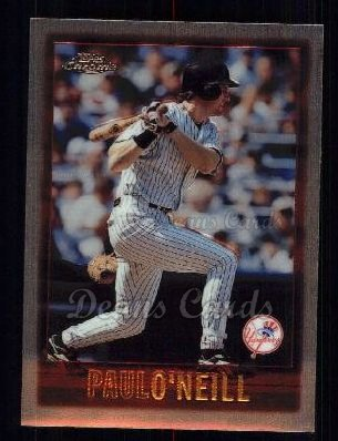 1997 Topps Chrome #88  Paul O'Neill