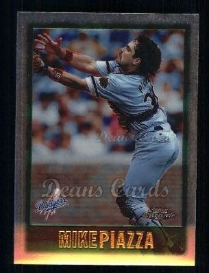 1997 Topps Chrome #9  Mike Piazza