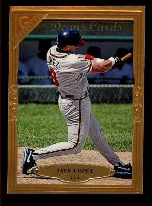 1997 Topps Gallery #100  Javy Lopez