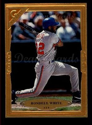 1997 Topps Gallery #110  Rondell White