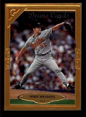 1997 Topps Gallery #112  Mike Mussina