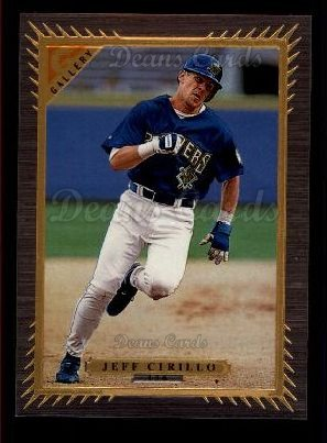 1997 Topps Gallery #136  Jeff Cirillo