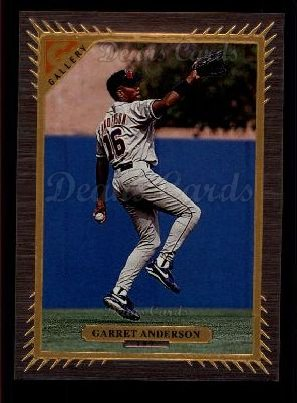 1997 Topps Gallery #157  Garret Anderson