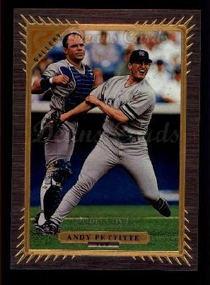 1997 Topps Gallery #160  Andy Pettitte