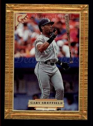 1997 Topps Gallery #55  Gary Sheffield