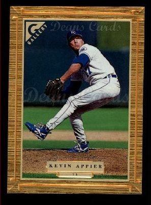 1997 Topps Gallery #71  Kevin Appier