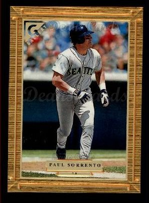 1997 Topps Gallery #78  Paul Sorrento