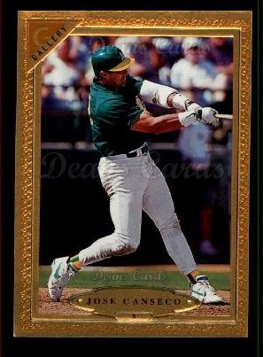1997 Topps Gallery #8  Jose Canseco