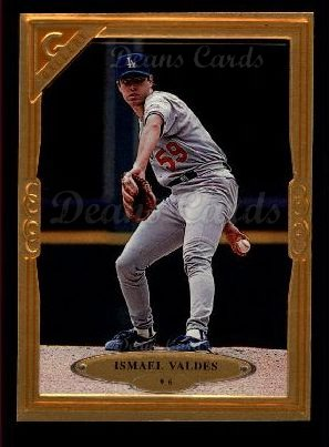 1997 Topps Gallery #96  Ismael Valdes